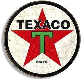 2 TEXACO Gasoline Vintage Gas Pump Decals Service Station Pumps Sign Stickers