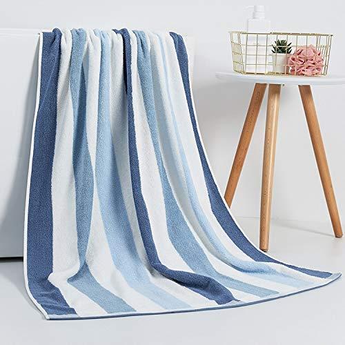 YXFYXF Toalla de baño Extra Grande de algodón de Invierno con Toalla de Playa Absorbente 90x180 cm Toalla (Color: Azul, Tamaño: 90x180cm) (Color : Blue, Size : 90x180cm)