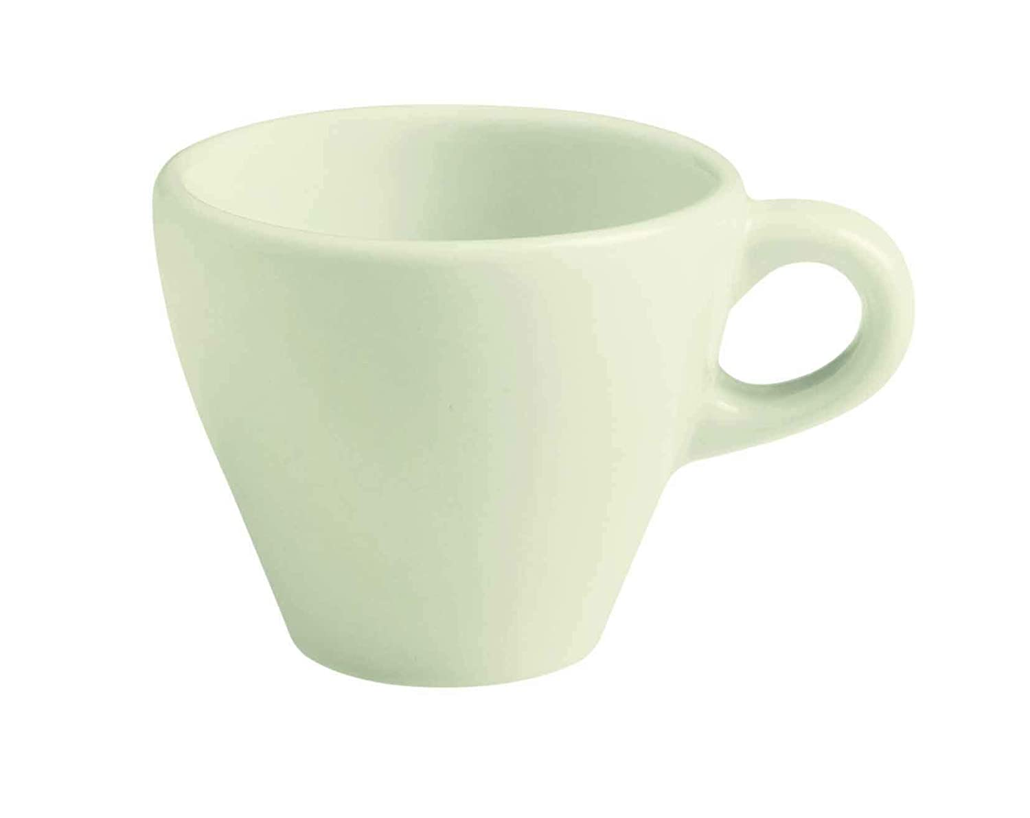 San Antonio Mall GET Porcelain Capuccino Now free shipping Cup 5.5 White 12 Set of Ounce