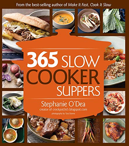 365 Slow Cooker Suppers (English Edition)