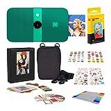 KODAK Smile Cámara Digital de impresión instantánea + Zink Conjuntos de Adhesivos Coloridos y Decorativos para proyectos de Papel fotográfico instantáneo + Set Regalo