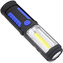 LED Flashlight, Portable Torch Work Hand Lamp Lantern Magnetic Waterproof Emergency LED Light