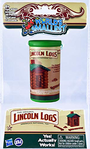 Worlds Smallest Lincoln Logs JungleDealsBlog.com