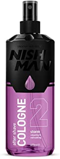 NISHMAN After Shave Cologne 2- Storm 400 ml
