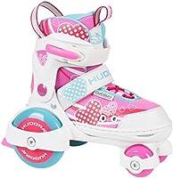 Hudora My First Quad Rolschaatsen, maat 26-33 - Roller skates voor meisjes en jongens