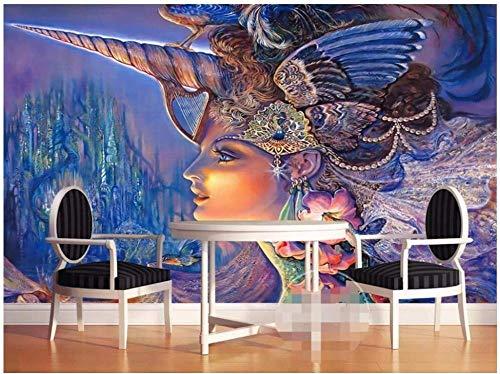 Slaapkamer behang aangepaste fotobehang 3D Wallpaper-3D vloerbedekking Hd kleur modern Beauty Art 3D groot behang wooncultuur 150 cm x 105 cm.