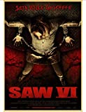 LAIDAO Leinwandplakat Saw Horror Movie