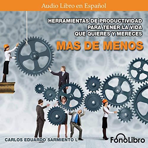 Mas de Menos [More Than Less] audiobook cover art