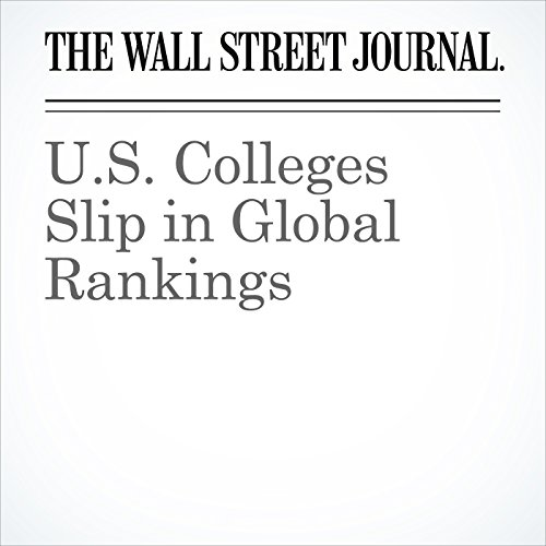 U.S. Colleges Slip in Global Rankings copertina