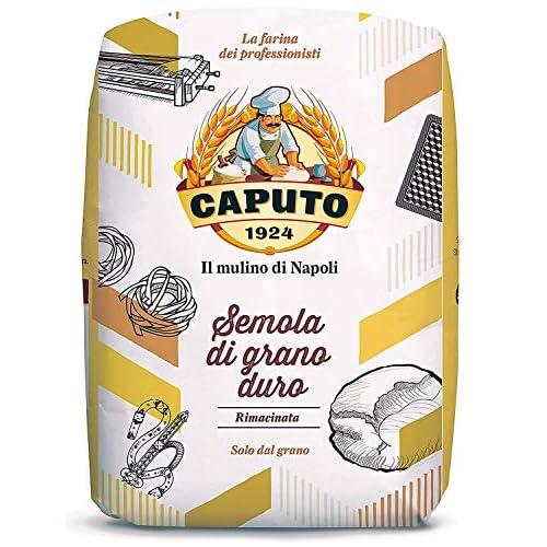 SEMOLA DI GRANO DURO RIMACINATA - 1 KG farina caputo