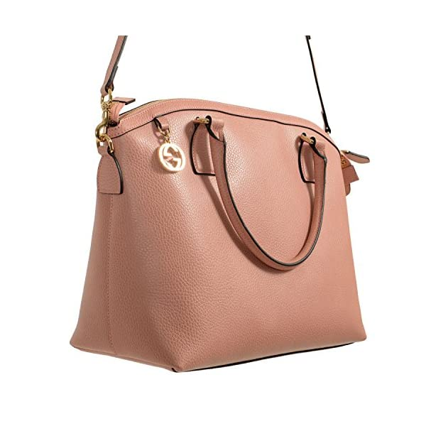 Fashion Shopping Gucci Leather Pink Women's Handbag Shoulder Bag