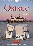 Ostsee Wochenkalender. Wandkalender 2020. Wochenkalendarium. Spiralbindung. Format 16,5 x 23 cm