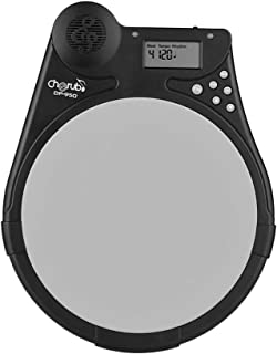 Muslady Digital Drum Practice Pad Cherub DP-950 Mute Drum Tutor with 9 Preset Drum Styles 4 Training Modes Metronome Function LCD Display Adjustable Rhythm Beat Tempo