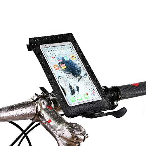 Fietsframetas, mobiele telefoonhouder, fiets, smartphonehouder fiets, waterdichte tas, berg bracket, fiets, mobiele telefoonhouder, vaste frameuitrusting.