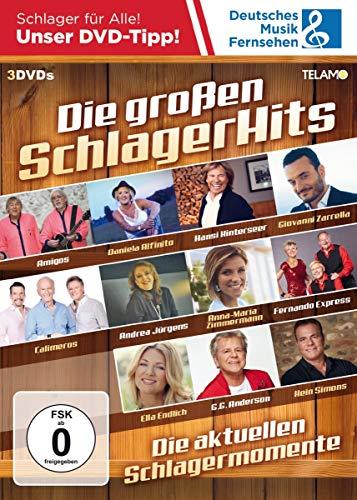 Die Großen Schlager Hits [3 DVDs]
