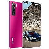 LNX Smartphone Desbloqueado 3G, Teléfonos móviles Baratos, Doble SIM, 1 GB de RAM + 8 GB de ROM, Batería de 3000mAh, Memoria Ampliable, Face ID, Sistema Android