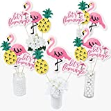 Pink Flamingo - Party Like A Pineapple - Tropical Summer Party...
