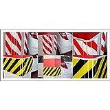 Normaluz Protección Parking - Protección Parking, 40x25x1.5 cm, Rojo Blanco