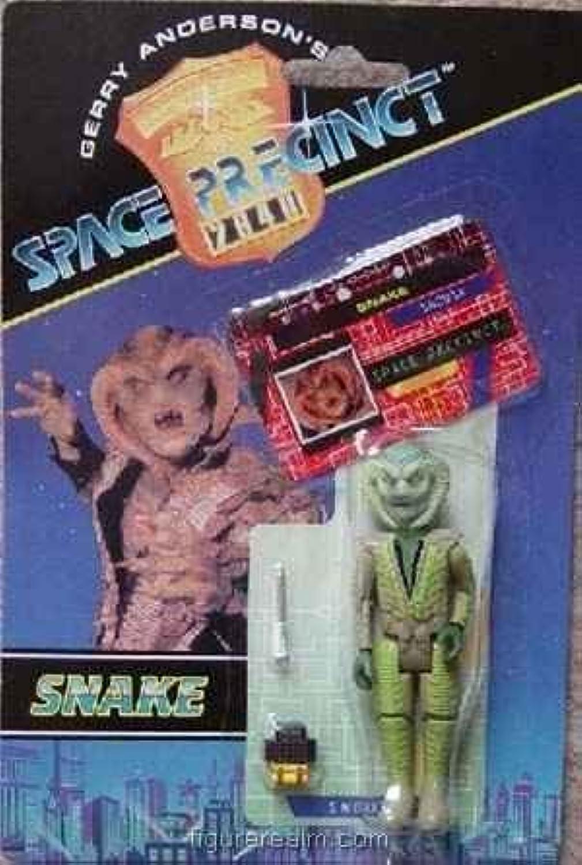 Snake Action Figure  Gerry Anderson's Space Precinct by Vivid Imaginations