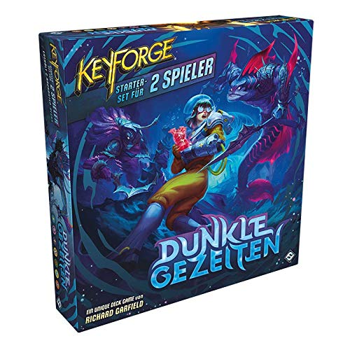 Asmodee Keyforge: Dunkle Gezeiten - Starter-Set, Grundspiel, Kartenspiel, Deckbau, Deutsch