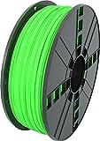 MG Chemicals Filamento para impresora 3D PLA verde, 2,85 mm, bobina de 1 kg