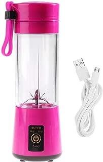Blender de Smoothie Milkshake avec 2 Bouteilles D/étachables Parfait pour Le Fitness TKOOFN Mini Portable Mixeur M/élangeur de Jus de Fruits /Électrique Rechargeable par USB 300+500ml