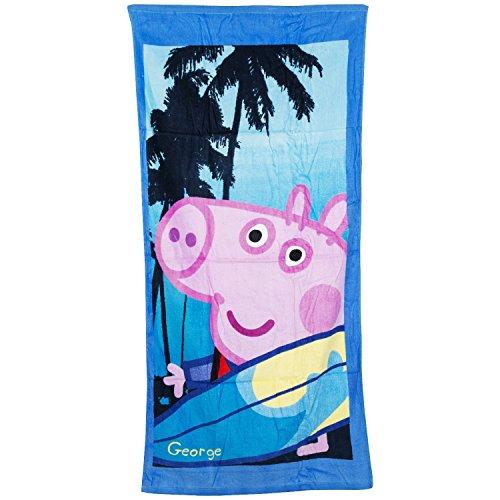 Peppa Pig George Surfing Handdoek