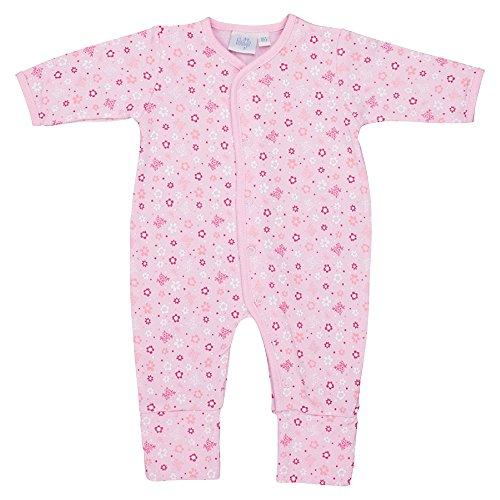 Feetje Baby Overall mit Alloverprint und Klappfuß, rosa (Rosa 192), 74