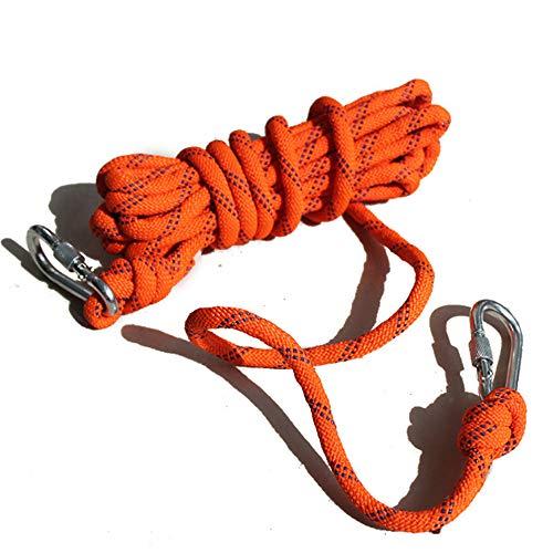 GYJ Corde d'escalade en Plein air, Corde d'escalade Statique, Escape Ice Escalade Equipment Fire Rescue Parachute Rope, pour l'alpinisme, Outdoor, Escape