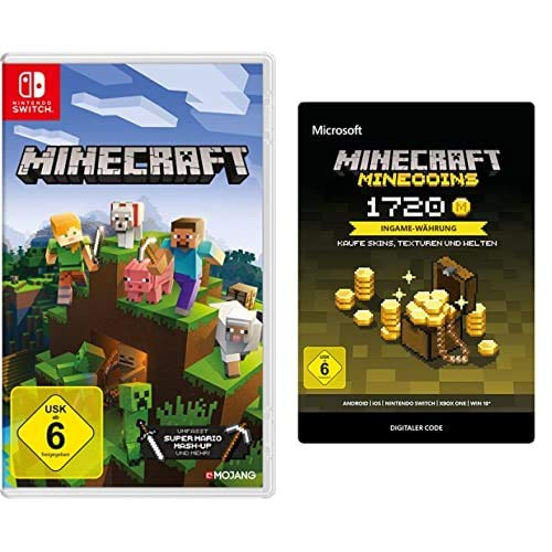 Minecraft: Nintendo Switch Edition [Nintendo Switch] + Minecoins Pack: 1720 Coins (Download Code)