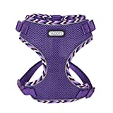 YUDOTE <span class='highlight'>Soft</span> Comfy <span class='highlight'>Mesh</span> Harness Escape-proof <span class='highlight'>No</span> Choke Vest Harnesses with Reflective Stripe for Cats,Puppies and Small <span class='highlight'>Dog</span>s,Purple