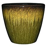 Classic Home and Garden 3/807G/1 Vogue Planter, 8', Willow Green