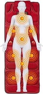 Colchoneta De Masaje Vibrante Para Todo El Cuerpo, 9 Motores De Vibración Colchoneta De Masaje Para Aliviar El Dolor Lumbar De La Pierna, Relajación Muscular De La Pantorrilla Lumbar