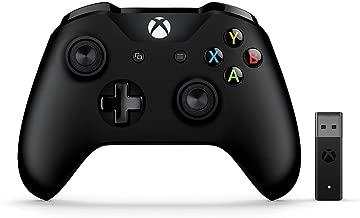 Microsoft Xbox Wireless Controller + Wireless Adapter for Windows 10 (Renewed)