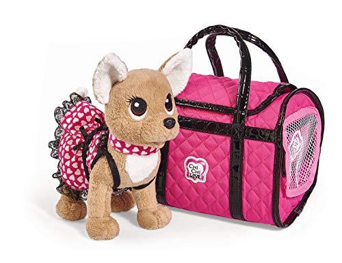 Paris II perrito con bolso de Chi Chi Love (Simba 5893123)