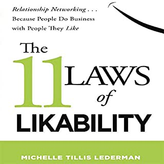 The 11 Laws of Likability audiobook cover art