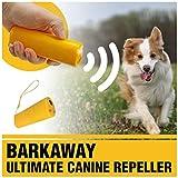 BarkAway – Ultimate Canine Repeller, 3 in 1 Ultraschall Hunde Anti-barke Hundetrainer Hunde Abschreckung Antibellen Hund Stopper Trainer Gerät LED Dog Trainer