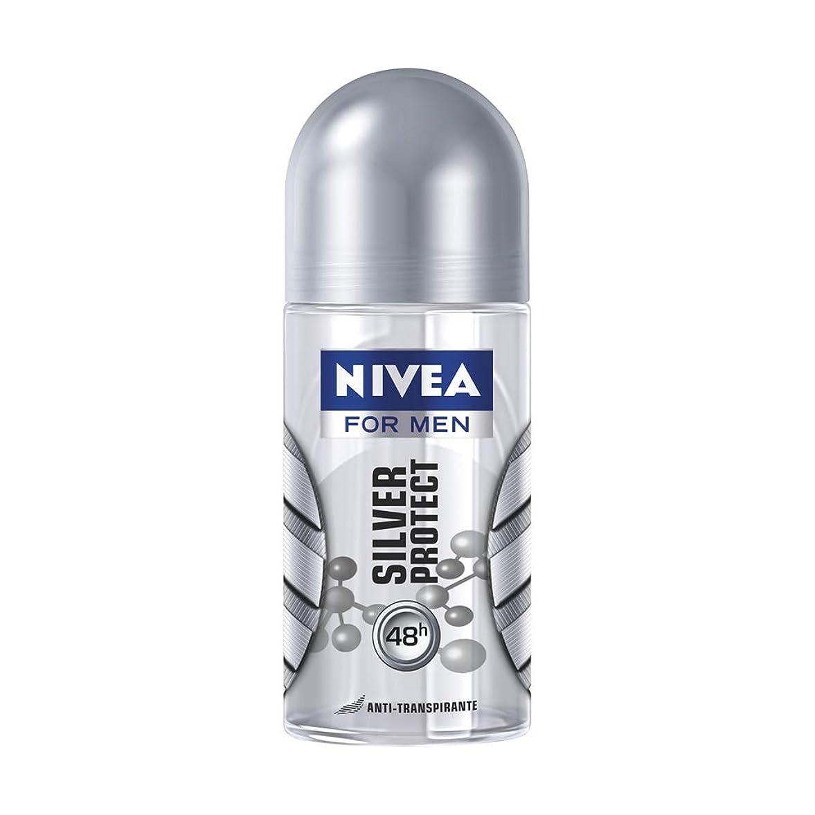 いつ幸運干渉NIVEA for Men ニベアフォーメン ブラジル ロールオンデオドラント?Silver Protect シルバープロテクト 50ml