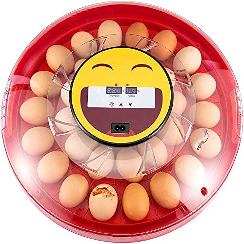 InLoveArts Incubadora Automática de Huevos 30 Huevos, incubadora de huevos automatica, Incubadora Digital de Huevos Incubadora con giro automático de huevos y control de temperatura y humedad