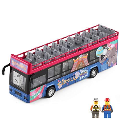 LTOOTA Convertible Autobús Turístico Dos Pisos Modelo