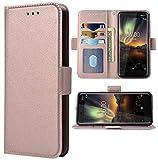 Phone Case for Nokia 6.1 / Nokia 6 2018 Folio Flip Wallet