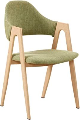 Amazon.com - yizi Stylish Solid Wood Folding Chair with Cushioned ...