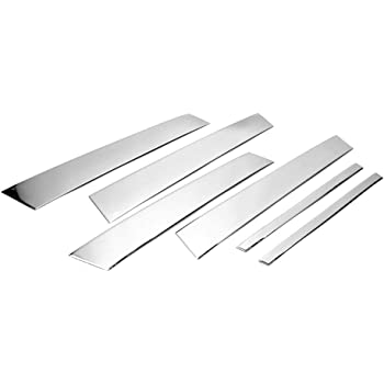 S SIZVER Triple Chrome Plated Door Handle Covers Overlay Compatible with 2019/&Up Ford Ranger