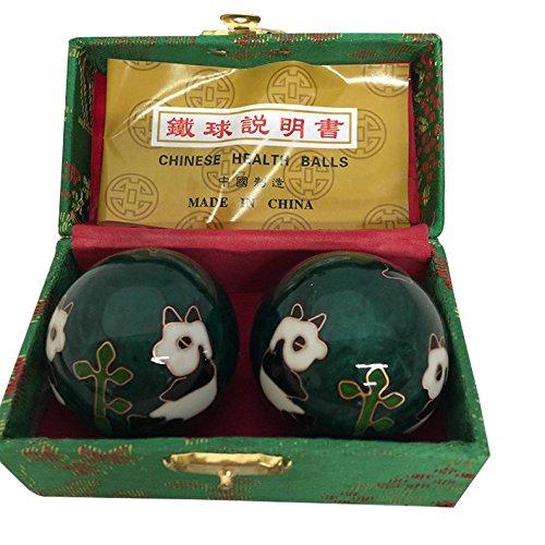Baoding Balls Chinese Health Massage Exercise Stress Balls - Green...