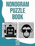 Nonogram Puzzle Book: Picross, Griddlers, Pic-a-Pix, Hanji, Logic square, Fun Puzzles