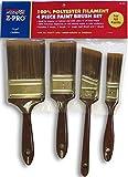 Premier Paint Roller 772303 812Z Promotional Poly Brush Set, 4-Piece