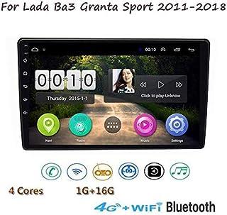 ステレオAndroid 8.1 GPS音楽ナビゲーションラジオ、Lada Ba3 Granta Sport 2011-2018、9インチタッチスクリーンマルチメディアプレーヤー、ミラーリンクステアリングホイールコントロールBluetoothハン...