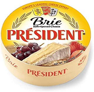 Brie Round Soft-Ripened Cheese, 8oz(227g)