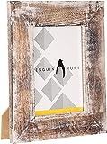 Penguin Home 3314 Mesa De Centro Superior De Mármol Marco Antiguo De Acero De Gran Calibre, Hierro/Piedra, Antq.Oro Y Verde, Grande, Oro, 45 X30 X45 Cm