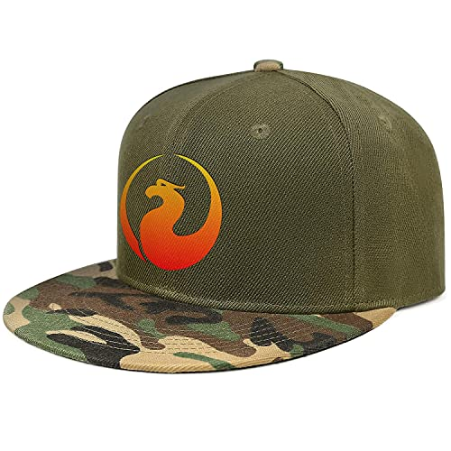 Mens Unique Adjustable Pontiac-Firebird-Logo- Army-Green Hat Snapback Rock Ball Cap
